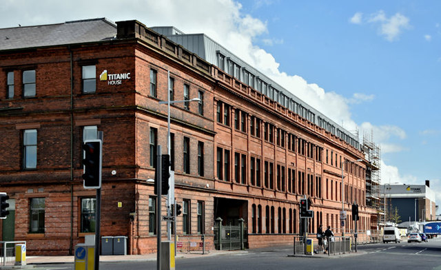 Former Harland & Wolff offices, Belfast - June 2017(1)