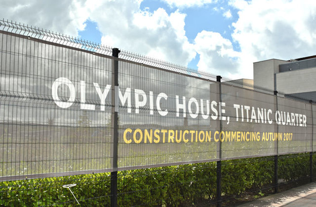The Olympic House site, Belfast - June 2017(1)