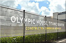 J3574 : The Olympic House site, Belfast - June 2017(1) by Albert Bridge