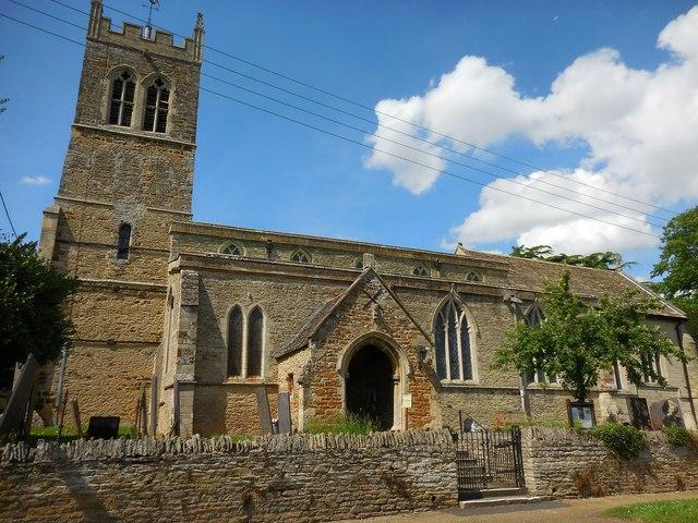 Pytchley Church