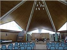 TQ1672 : Inside St Richard, Ham by Basher Eyre