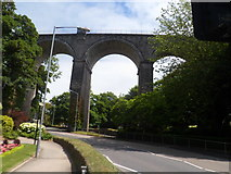 SW8161 : Viaduct in Newquay by Matthew Cotton