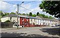 SO1409 : Long row of houses, Church Street, Tredegar by Jaggery