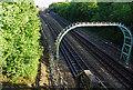 TQ4488 : London Underground Central Line heading towards Newbury Park by Phil Gaskin