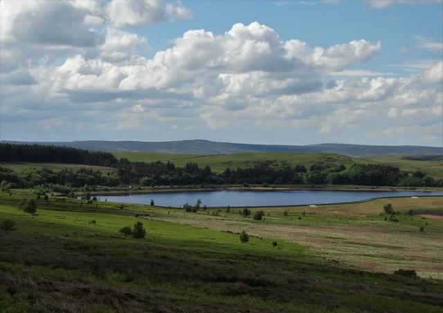 The upper reservoir at Redmires