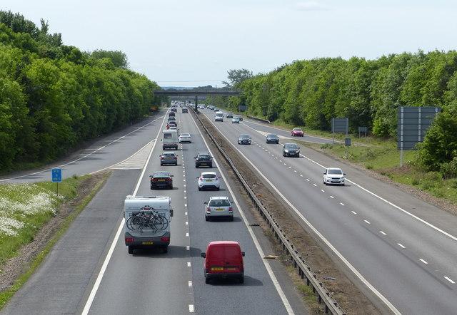 Junction 13 of the M11 motorway