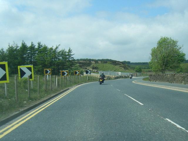 A629 at Flappit Quarry