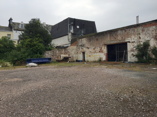 Vacant site off Brunswick Street, Teignmouth