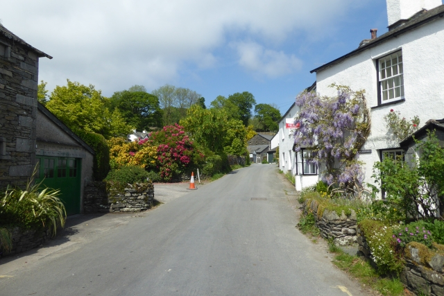 Stones Lane from the B5285