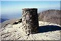 SH6054 : Yr Wyddfa Trig Pillar by Jeff Buck