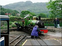 NY1700 : Turning at Dalegarth by Peter Trimming