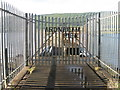 NS1680 : Ardnadam Pier by M J Richardson