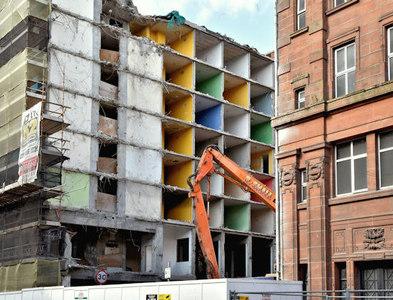 J3373 : Nos 5-7 Brunswick Street, Belfast - June 2017(2) by Albert Bridge
