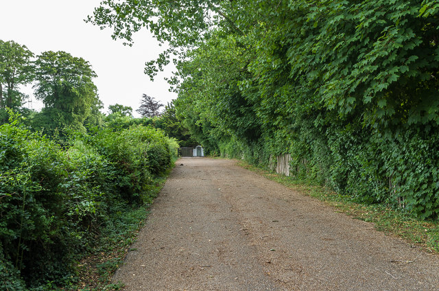 Driveway to Holwood House