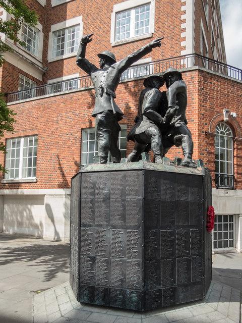 Firefighters Memorial, London
