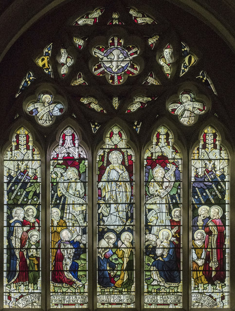 St Mary, Plaistow - Stained glass window