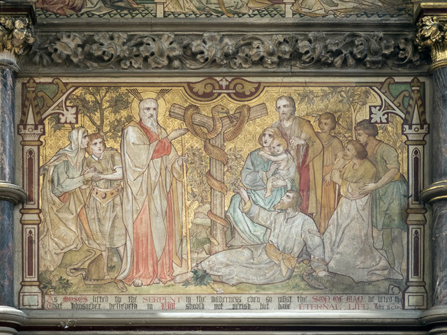 St Mary, Plaistow - Wall painting