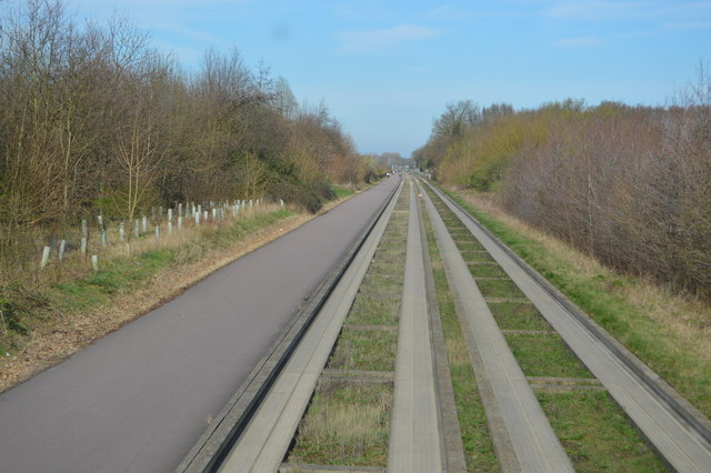 Guided busway and cycle route 51