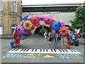 ST7564 : Umbrella arch near Bath railway station by Richard Humphrey