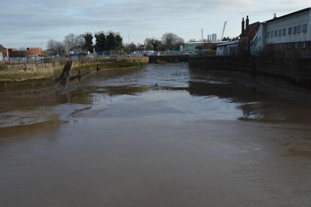 Former quay, River Hull