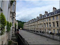 ST7565 : The Paragon, Bath by Richard Humphrey