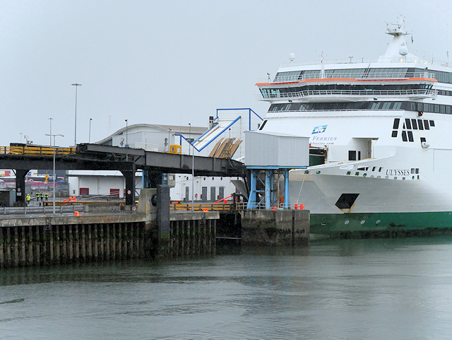 Ferry Loading at Dublin