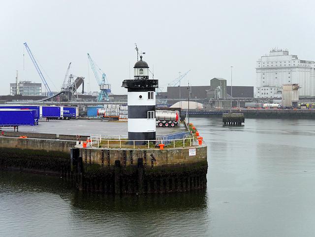 Port of Dublin, North Wall Quay Lighthouse