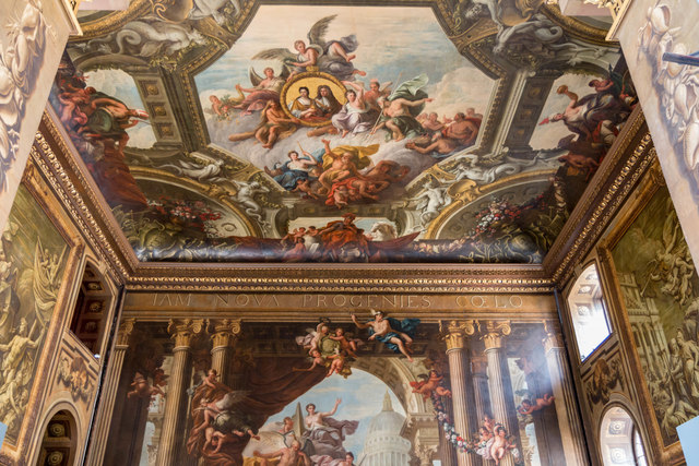 Painted Hall, Royal Naval College, Greenwich