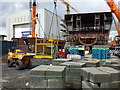 NS3274 : Building Hull 801 at Ferguson Marine shipyard by Thomas Nugent