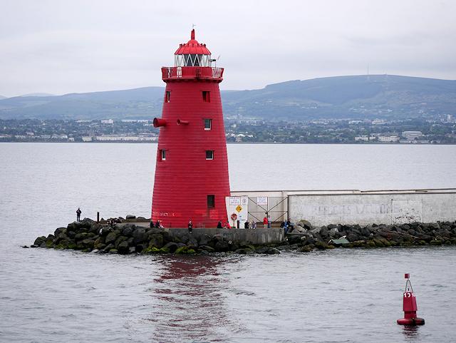 The Poolbeg Lighthouse, Dublin