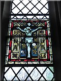 TQ2075 : St Mary Magdalen R.C. Church, Mortlake: stained glass window (f) by Basher Eyre