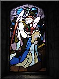 TQ2075 : St Mary the Virgin, Mortlake: stained glass window (a) by Basher Eyre