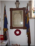 TQ2075 : St Mary the Virgin, Mortlake: memorial (g) by Basher Eyre