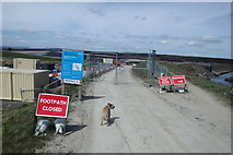 SD9620 : Pennine Way Closed ? by Michael Graham
