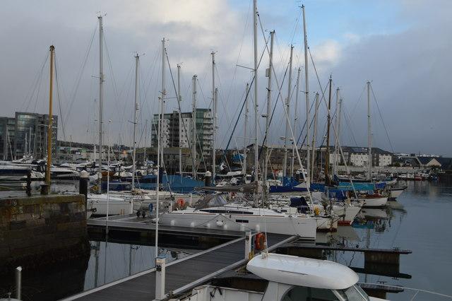 Marina, Sutton Harbour