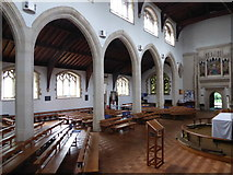 TQ2075 : Inside St Mary the Virgin, Mortlake (13) by Basher Eyre