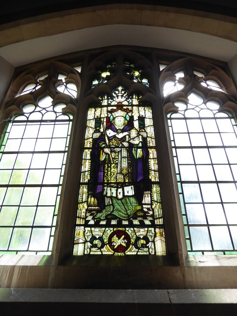 St Mary the Virgin, Mortlake: stained glass window (c)