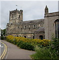 ST5393 : South side of Grade I listed Priory Church of St Mary Chepstow  by Jaggery