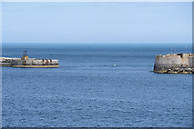 SY7074 : Portland Harbour, South Ship Channel by David Dixon
