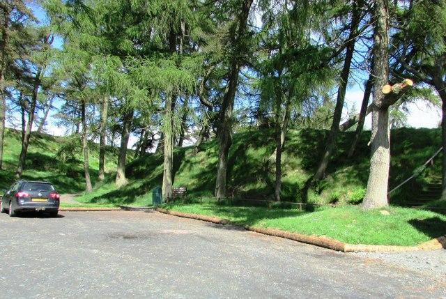 Craigmead car park, Lomond Hills