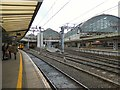 SJ8497 : Piccadilly from platform 13 by Gerald England