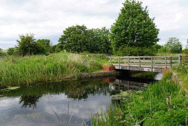 Bridge over the St Helens Canal
