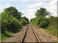 NZ2483 : Railway between Morpeth and Bedlington by Graham Robson