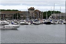 SY6778 : Weymouth Marina by David Dixon