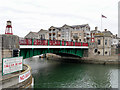 SY6778 : Weymouth Town Bridge by David Dixon