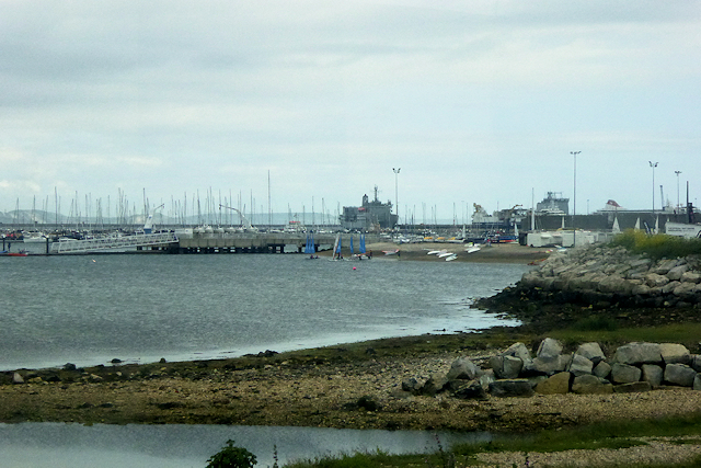 Portland Harbour Marina and National Sailing Academy