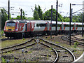 NZ2913 : Virgin train at Darlington railway station by Thomas Nugent