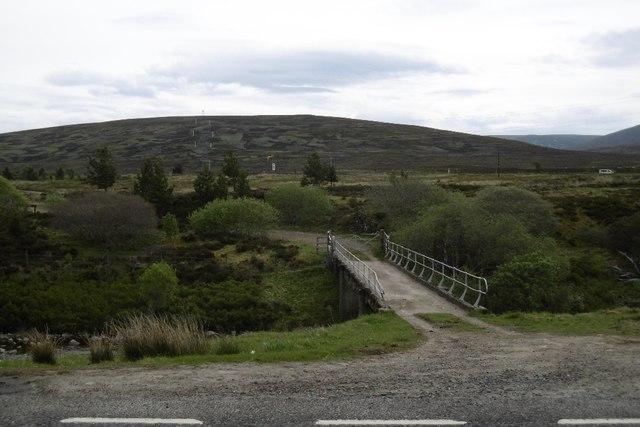 Cuaich aqueduct road