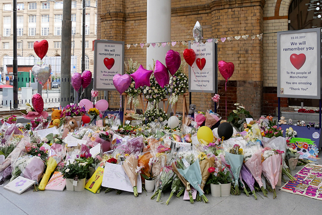 Floral Tribute at Victoria Station