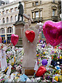 SJ8398 : Manchester Bombing, Memorial Sculpture in St Ann's Square by David Dixon